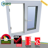 PVC Double Pane Hurricane Proof Sliding Windows for House