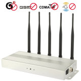 Cell Phone Jammer Professional for Blocking 2g 3G and 4G Phone Signals - 6 Bands Desktop Professional Cell Phone Jammer
