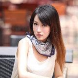 Silk Digital Printed Square Scarf (12-BR050303-22)