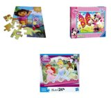 Funny Cartoon Plastic 3D Puzzle