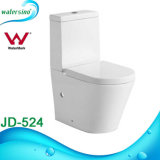 Ceramic Two Piece Standing Mounted Bathroom Toilet