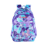 Colorful Polyester School Laptop Backpack for Girls