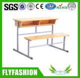 High Quality Classroom Double Desk and Chair Set (SF-31D)