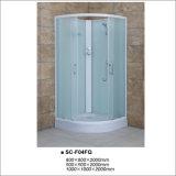Fabric Glass Quadrant Shower Room