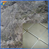 China Factory Supply Hot Sale Flexible Metal Mesh Fabric/Stainless Steel Wire Rope Mesh Net, Slope Protective Screening