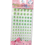 Crystal Acrylic Pearl Attractive Jewel Stickers (sti070)