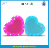 New Designed LED Indicator Charger Heart Shape Gift Power Bank