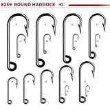 Wholesale High Carbon Steel Round Haddock Sea Fishing Hook