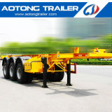 Used Second Hand 40FT Container Chassis Trailer for Phillippines