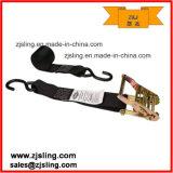 "25mm S Hook Ratchet Lashing Strap 1""X 5m (customized)"