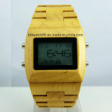 Wholesale Wood Watch Digital Wooden Watches for Mens