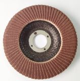 Abrasive Polishing Flap Disc with Fiberglass Backing Pad