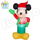 Inflatable Airblown LED Christmas Hat Mickey