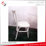 Smooth Durable Painting Cross Back Restaurant Furniture (FC-152)