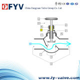 Y-Type Bellow Seal Globe Valve Stop Valve