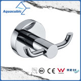 Polished Chrome Double Robe Hook (AA9611)