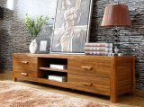 Solid Wooden Living Room Cabinet TV Stand (M-X2200)