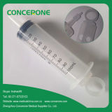 Medical Disposable Irrigation Syringe with Cap