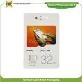 Blister Packing Memory Card 16GB 32GB 64GB Micro SD Card 128GB for Samsung Evo