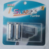 Neutral Razor Blades with Neutral Package Compatible for Gillette Handle