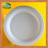 9 Inch Disposable Biodegradable Cornstarch Plate