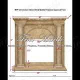Indoor Desert Gold Fireplace for Home Decoration Mfp-331