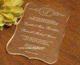 Acrylic Laser Cut Wedding Invitation Card (BTR-U3001)