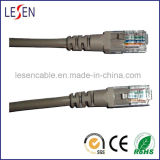 Cat5e UTP Patch Cord with Copper or CCA or CCS Conductor