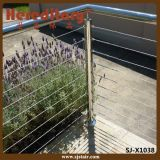 Outdoor Stainless Steel Modular Cable Balustrade for Balcony (SJ-X1038)