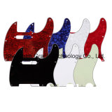 Tele Style Guitar Pickguard 7 Colors 3ply Pearloid Pickguard