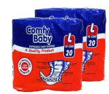 Comfy Baby Diapers L