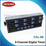 Digital Timer 8-Channel for Kitchen Use