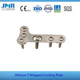 Oblique T Shaped Locking Compression Plate LCP