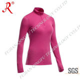 Women′s Sun Protection and Quick Drying Tee Shirt (QF-1847)