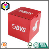 Waterproof Matte Red Color Print Corrugated Paper Packaging Box