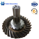BS6091 15/29 Customized Helical Bevel Gear Truck Gear Steyr Gear Medium Bridge Spiral Bevel Gear