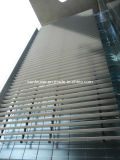 Aerofoil Aluminium Architectural Exterior Blinds Used as Facade /Curtain Wall (DX-AF350)