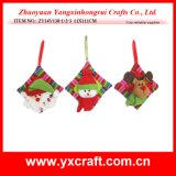 Christmas Decoration (ZY14Y138-1-2-3) Christmas Square Pillow Hanging Gift
