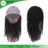 Full Lace Wig Human Hair Natural Color 1b Brazilian Hair