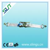 3t*35mm 5m Ratchet Tie Down Double J Hook Sln Ce GS