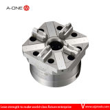 Rapid-Action Pneumatic 4 Jaw Chuck for CNC