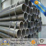 Welded Carbon Black Circle Hollow Section/Round Steel Pipe