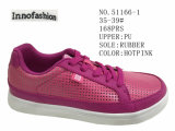 Two Colors PU Women Skate Shoes