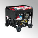 8kw Air-Cooled Diesel Generator Set Portable Model (DG12000E)