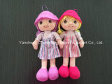 Plush Soft Cloth Dolls with Beautiful Clothes