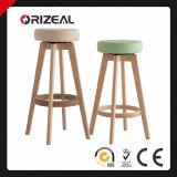Wooden Swivel Bar Chair (OZ-1127)