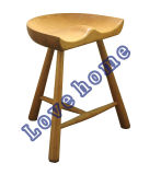 Modern Restaurant Bruce Shoemaker Triangle Wooden Common Bar Stools