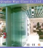 Big Size High Polished Tempered Sliding Patio Door Glass