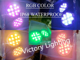 Waterproof IP68 36W RGB LED Underwater Lights for Swimming Pool