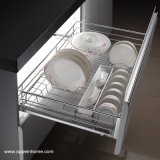 Oppein Stainless Steel Pull-out Basket for Plate (OP-LB080WLA-1)